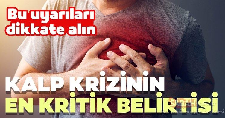 Kalp krizinin kritik belirtilerine dikkat!