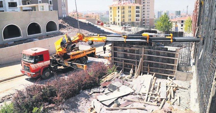 2 iş kazasında 1 kişi öldü