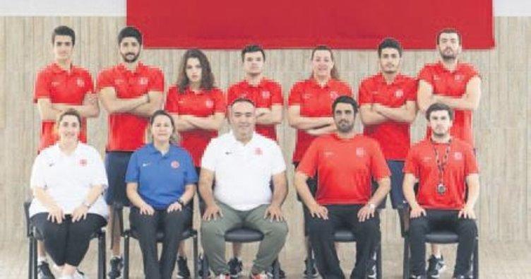 İşitme engelli milli sporcular Eryaman'da hazırlanıyor