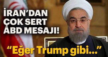 İran'dan çok sert ABD açıklaması