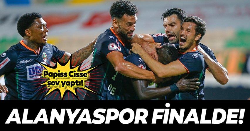 Alanyaspor Türkiye Kupası'nda finalde!