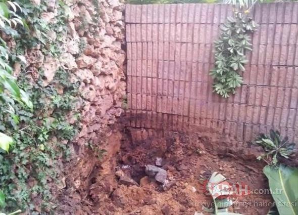 Bahçesine bakın nasıl havuz yaptı! Eşinden izin alamayınca öyle bir çözüm buldu ki...