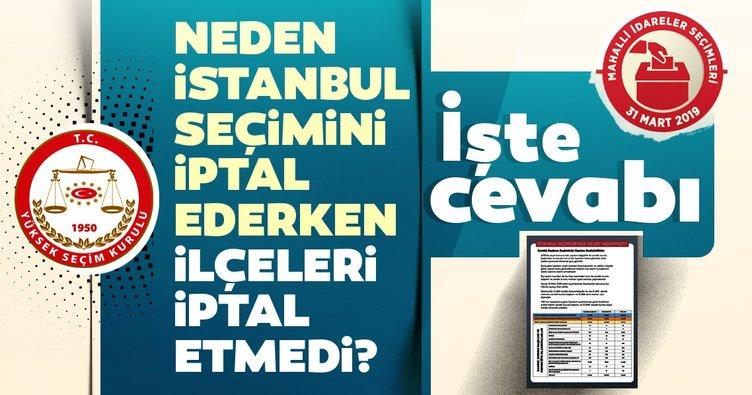 YSK kararındaki ayrıntı ve İstanbul seçimleri neden yenileniyor? sorusunun cevabı burada