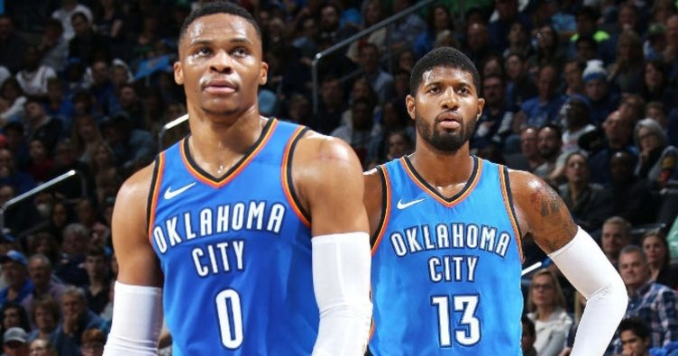 Thunder'da Paul George ve Russell Westbrook ameliyat edildi