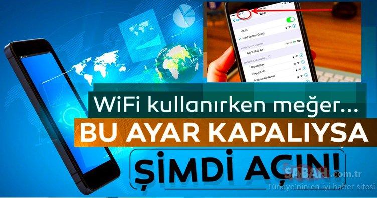 WiFi kullanan herkes bu ayarı değiştirsin! Sebebi ise...