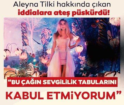 Aleyna Tilki'den yeni açıklama! Aleyna Tilki aşk iddialarına ateş püskürdü!