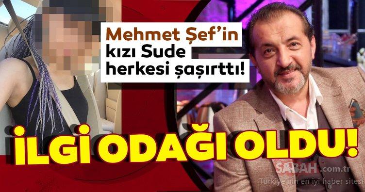 İşte ünlü şef Mehmet Yalçınkaya'nın kızı Sude Yalçınkaya... MasterChef yarışmasının Mehmet Şef'ini kızı Sude ile gören beğeni yağdırdı!