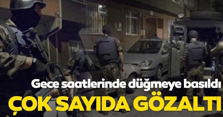 Son dakika: İstanbul'da DEAŞ operasyonu; Çok sayıda gözaltı var