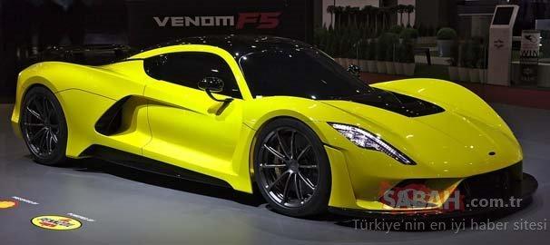 Dünyanın en hızlı 10 otomobili! Bu araçların hızı 400 km'yi geçiyor