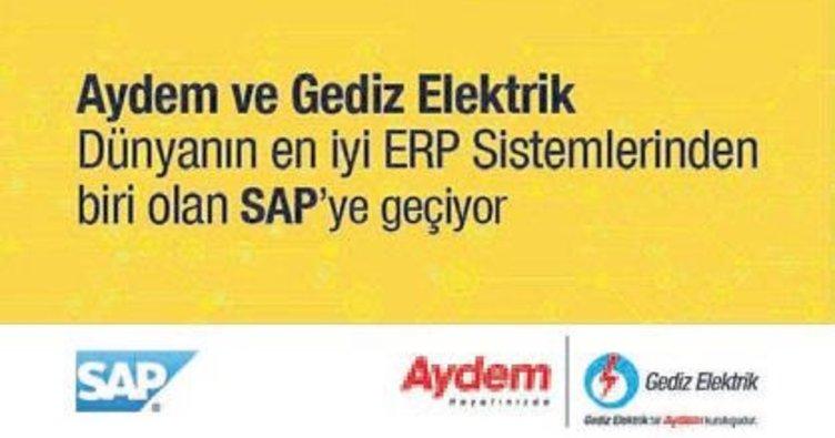 Aydem ve Gediz SAP'a geçiyor