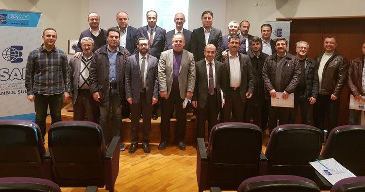ESAM'dan eğitim paneli