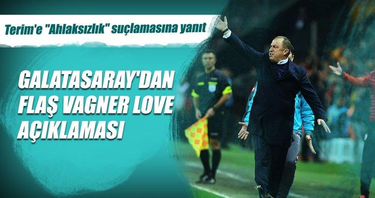 Galatasaray'dan Hasan Çavuşoğlu'na Vagner Love yanıtı