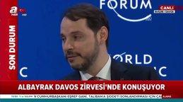Bakan Albayrak'tan Davos Zirvesi'nde önemli açıklamalar Türkiye'nin borç karnesi çok sağlam