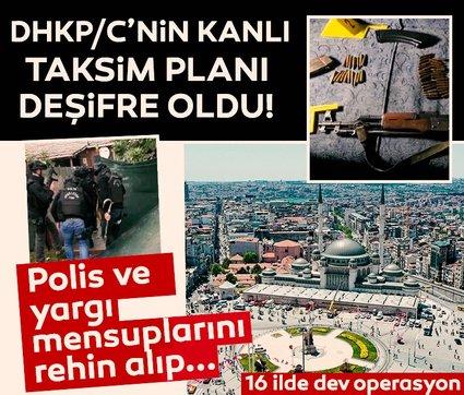 DHKP/C'nin Taksim planı deşifre oldu! Rehine alma ve sözde Rehine pazarlığı...