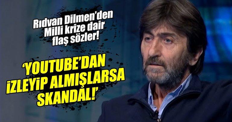 Rıdvan Dilmen'den Milli Takım değerlendirmesi: Skandaldır!