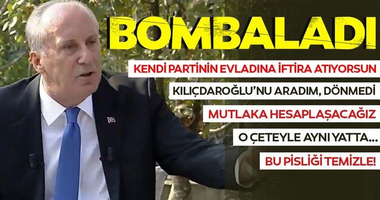 İnce'den CHP'deki kavga hakkında flaş açıklamalar! İşte Muharrem İnce'nin Yalova'da yaptığı açıklamalar
