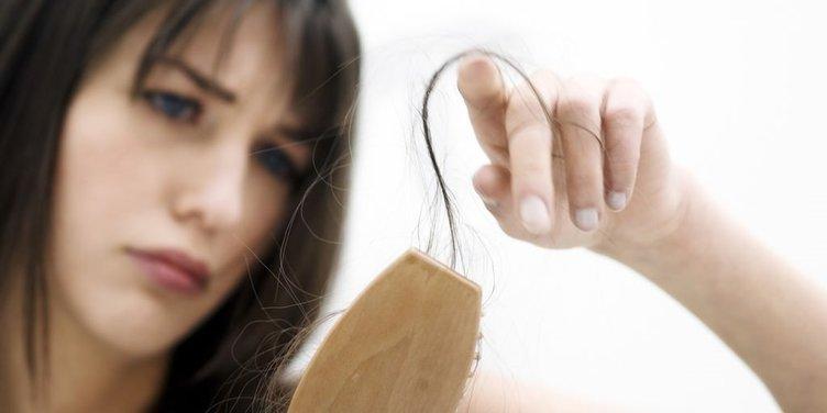 Saç dökülmelerine kökten çözüm