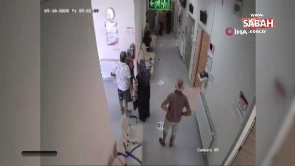 Sağlık çalışanlarına yapılan saldırının görüntüleri ortaya çıktı | Video