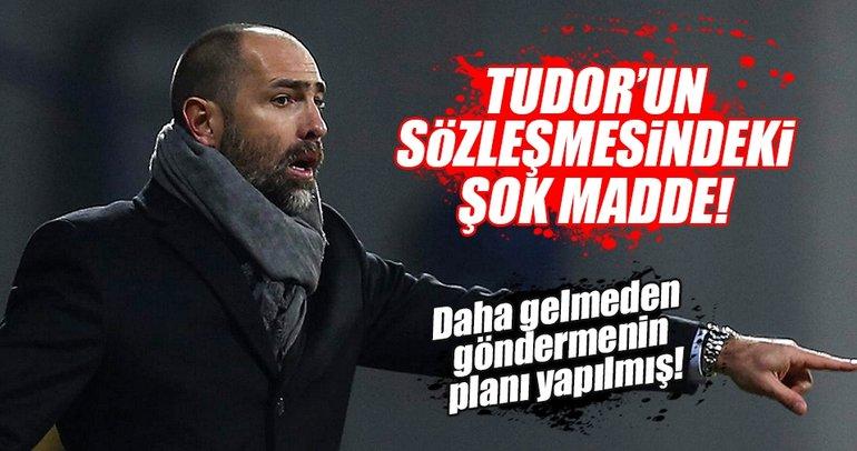 Galatasaray'dan Tudor'un sözleşmesine kritik madde
