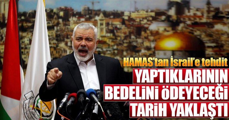 Hamas'tan İsrail'e tehdit