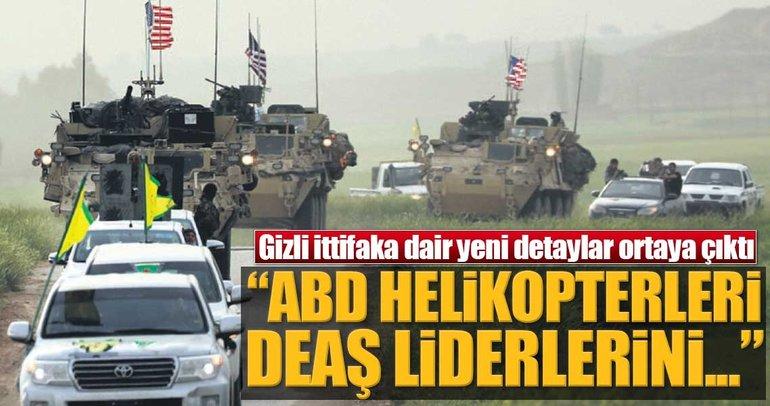 """""""ABD helikopterleri DEAŞ liderlerini SDG'ye taşıyor"""""""