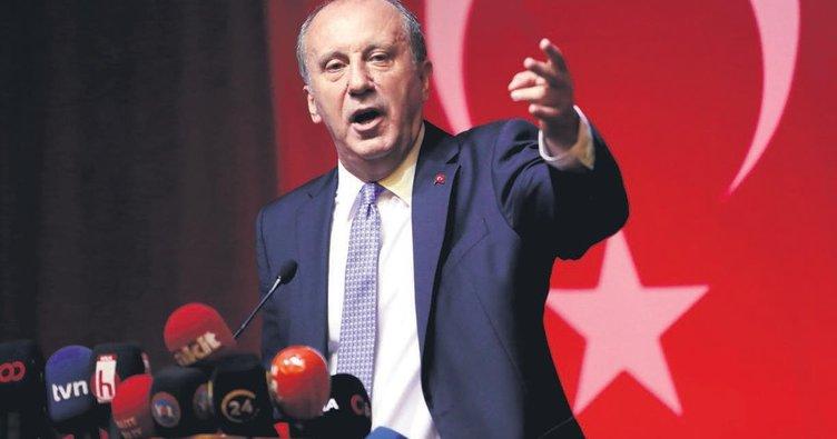 Muharrem İnce'den Kılıçdaroğlu'na: Sıkıştığı zaman bir yalan atıyor