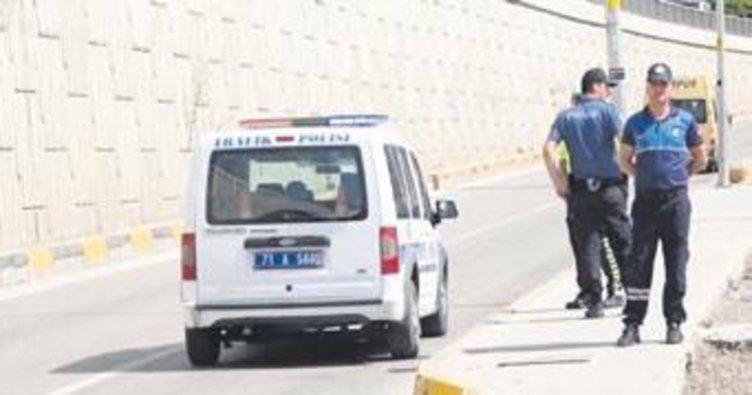 Polis ve zabıtadan korsan nöbeti