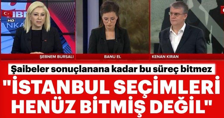 Şebnem Bursalı'dan İl Seçim Kurulu'nun skandal kararını değerlendirdi: İstanbul seçimleri askıdadır
