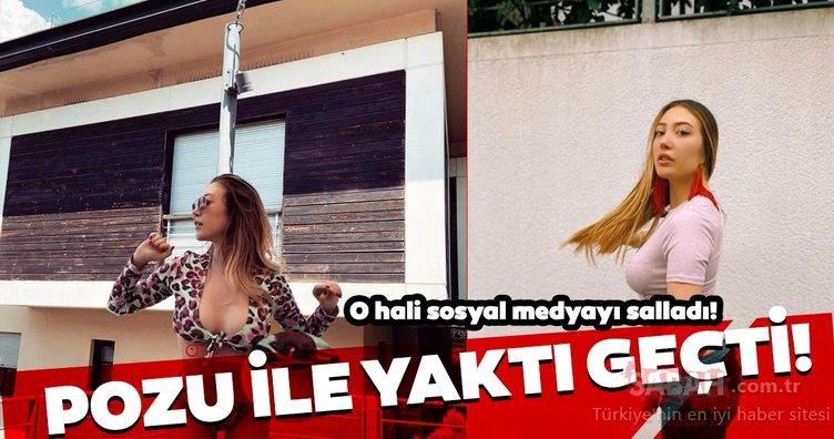 Yasmin Erbil'i görenler gözlerine inanamadı... Yasmin Erbil'in sosyal medya pozu olay oldu!