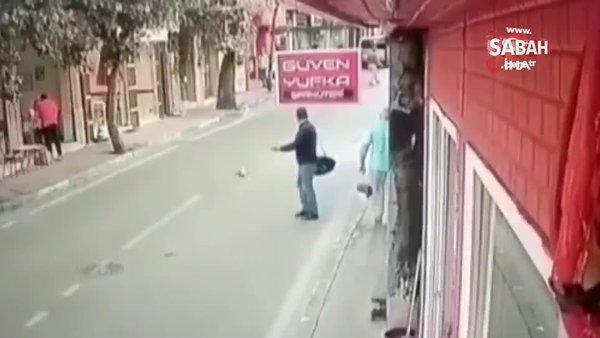 Kediyi ezdi, arkasına bakmadan yoluna böyle devam etti   Video