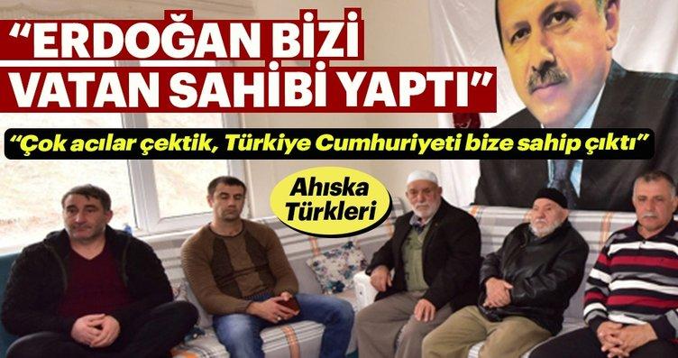 """""""Erdoğan bizi vatan sahibi yaptı"""""""
