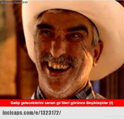 Galatasaray - Beşiktaş derbisi capsleri