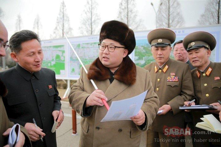 Kim Jong Un bunu da yaptı!  Silahlar ateşlendi, ajanslar son dakika koduyla geçiyor