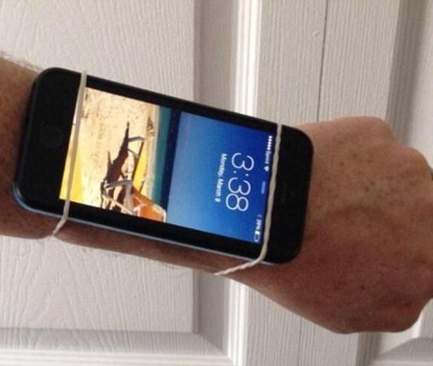 Çakma Apple Watch görüntüleri