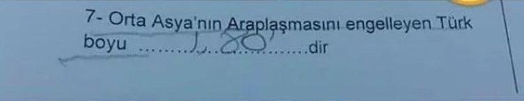 Sınav kağıtlarına verilen komik cevaplar!
