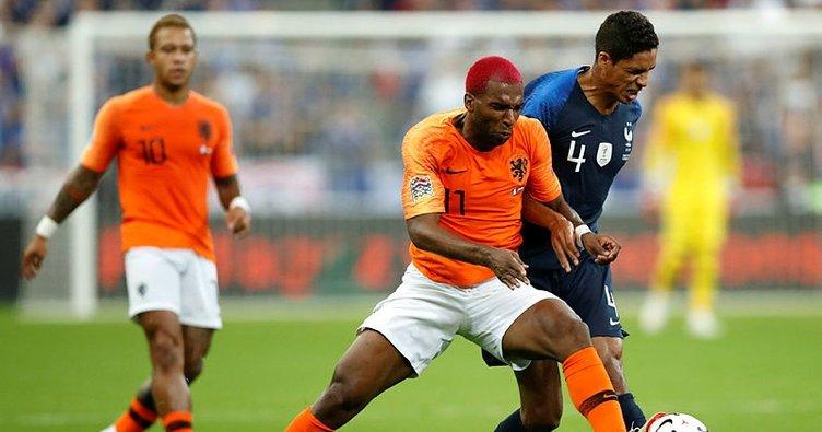 Ryan Babel'in golü Hollanda'ya yetmedi