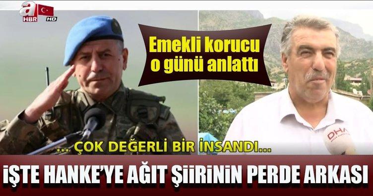 Şehit Tümgeneral Aydoğan Aydın'ın yazdığı Hanke Dağı Şiiri'nin hikayesi