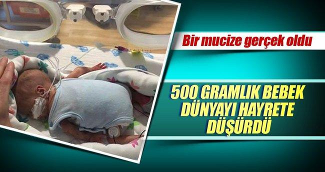 500 gram doğdu