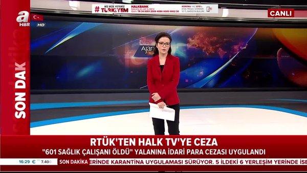 Halk TV'ye yalan haber yaptığı için RTÜK'ten ceza! | Video
