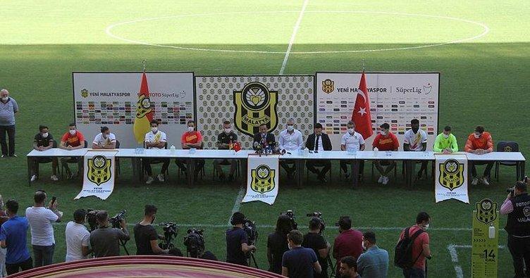 Yeni Malatyaspor yeni transferlerini tanıttı