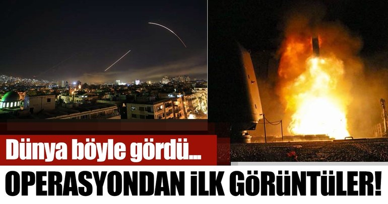 Son Dakika: Suriye operasyonu böyle görüntülendi!