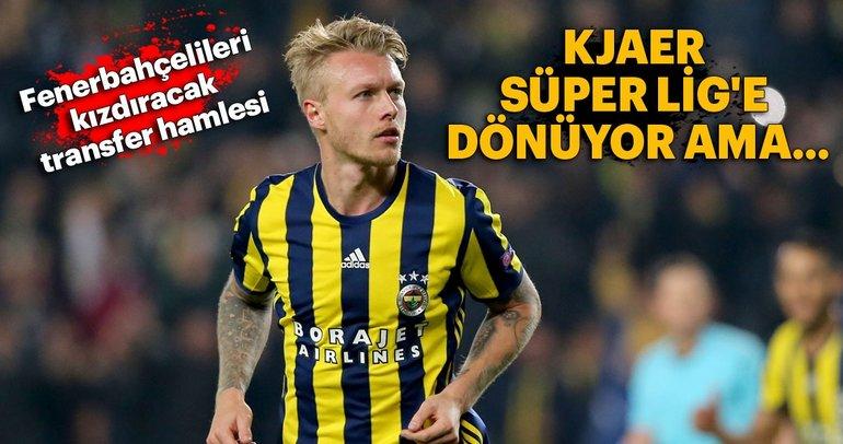 Galatasaray'dan Kjaer bombası!