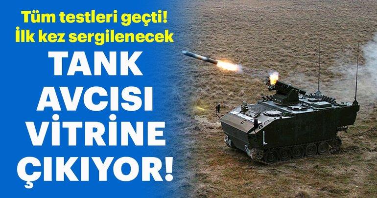 Türkiye'nin tank avcısı Kaplan vitrine çıkıyor
