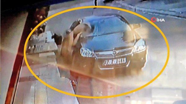 Son dakika! Gaziantep'te dehşet! Yarı çıplak 5'inci kattan düşme anı görüntüleri ortaya çıktı | Video