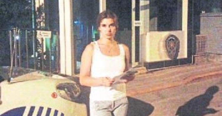 Rus kızı ölüm korkusu sardı