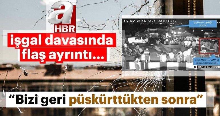15 Temmuz'da Albay Ertürk'ün şehit edilmesine ilişkin dava