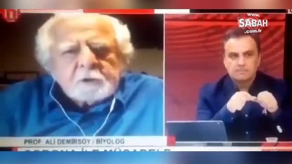 Halk TV'de canlı yayında corona virüsü hastaları için şoke eden skandal 'Öldürürdüm' (İtlaf) açıklaması | Video