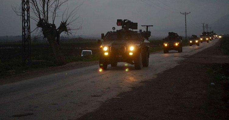 Suriye sınırında hareketlilik