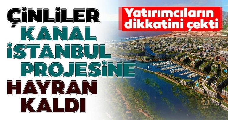"""""""Kanal İstanbul"""" Çin medyasının ve yatırımcısının gündemi oldu"""