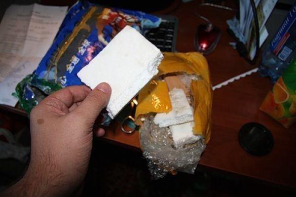 İnternete sipariş verdi, paketten..